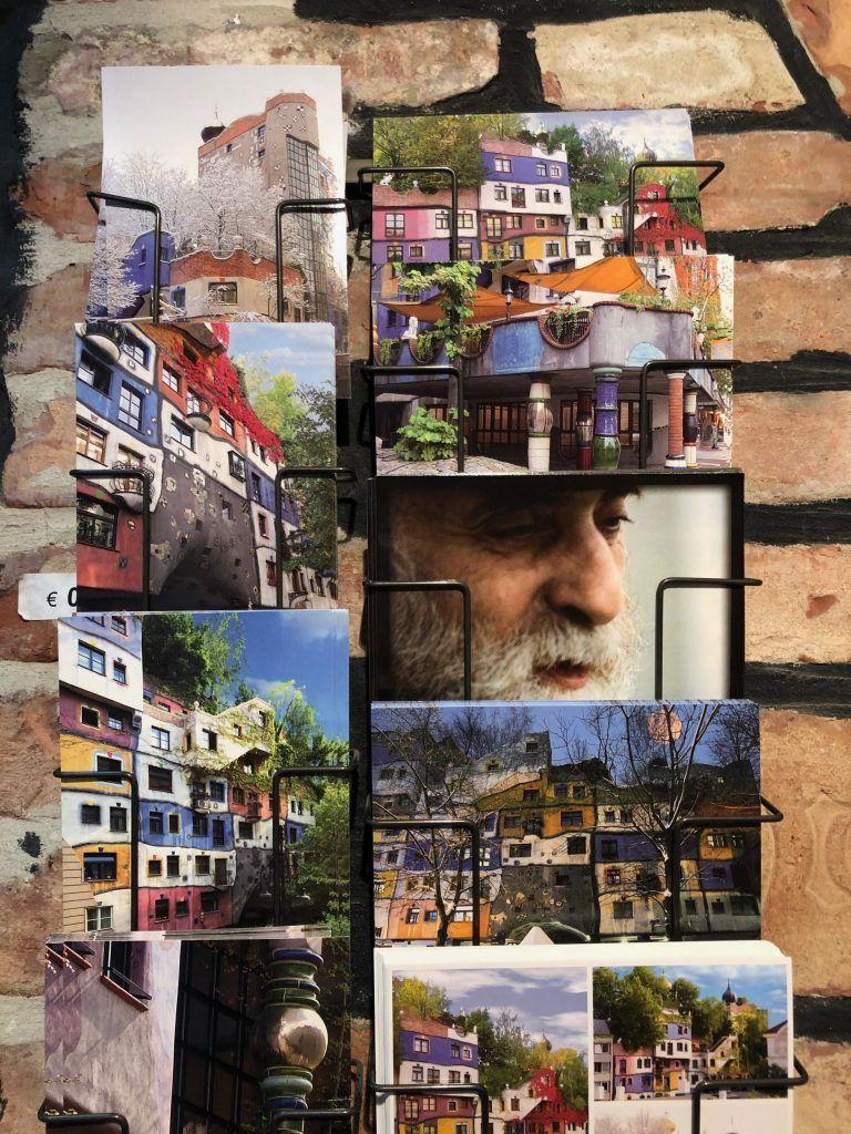 cartoline nella hundertwasserhaus