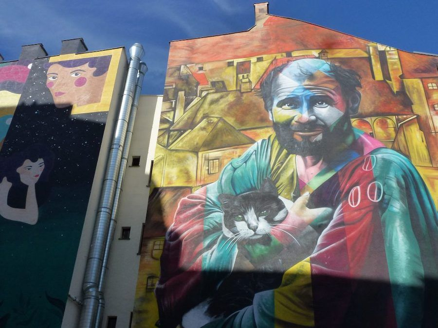 streetart klimt