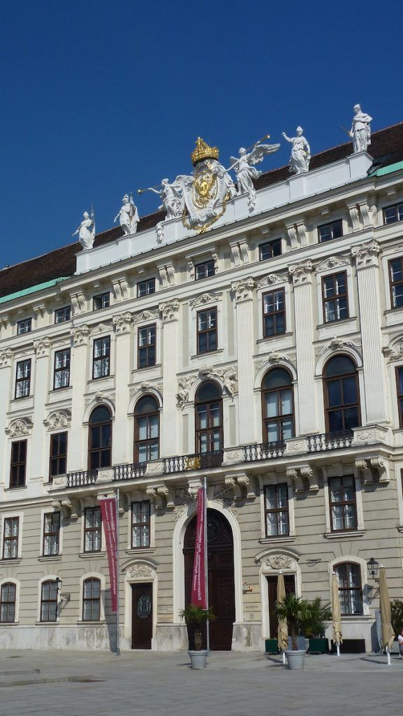 ingresso kaisertor della hofburg