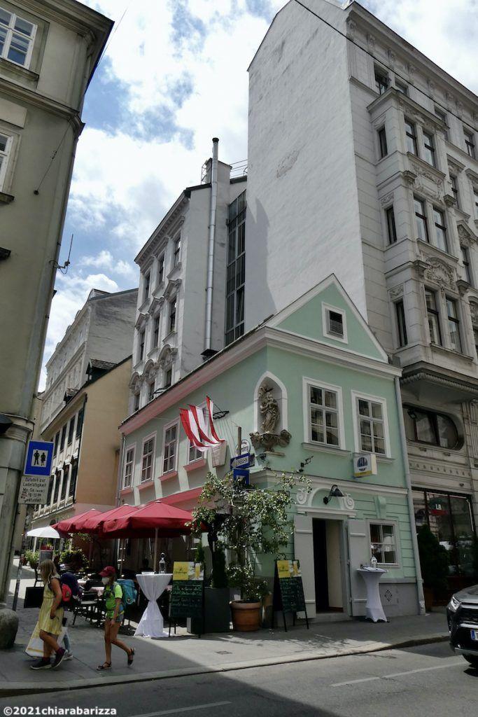 casa tipica del quartiere spittelberg