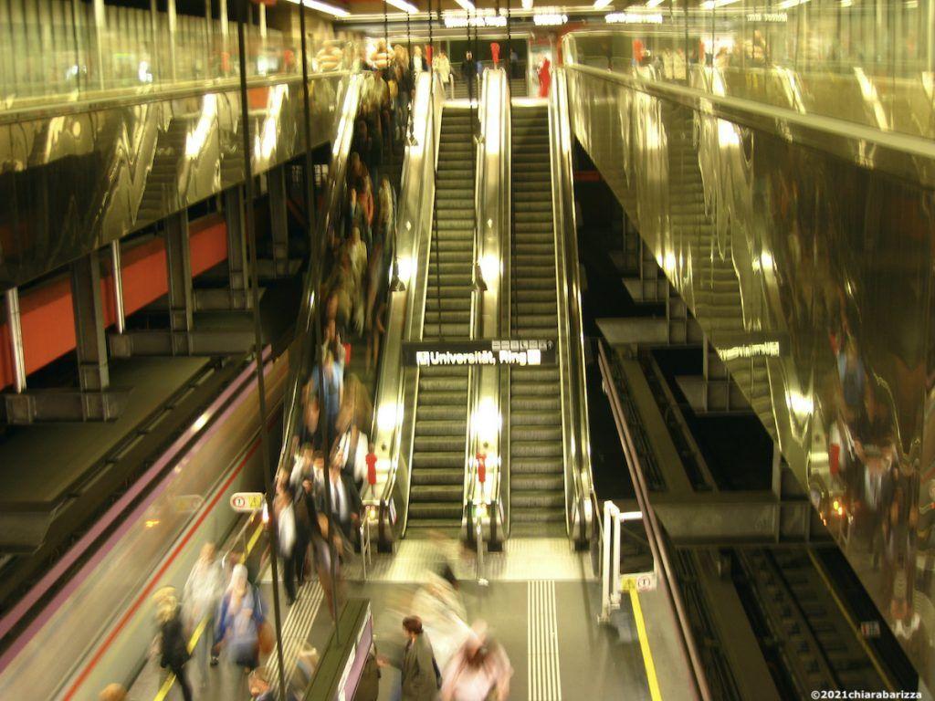 vienna si muove in metro